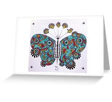 constellation butterfly Greeting Card
