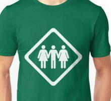 Threesome Unisex T-Shirt