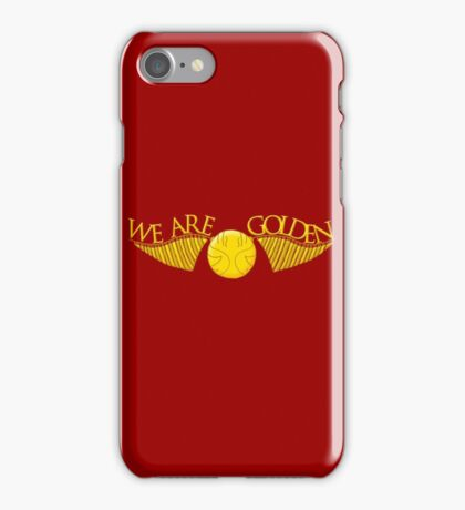 We Are Golden iPhone Case/Skin