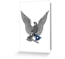 Emblem of the Estonian Air Force  Greeting Card