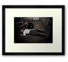 Butcher'd Butcher Framed Print
