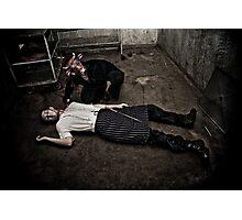 Butcher'd Butcher Photographic Print