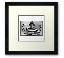 EMO PHILLIPS (about the girls) Framed Print