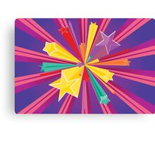 Vibrant Colorful Background Canvas Print
