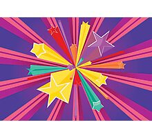 Vibrant Colorful Background Photographic Print
