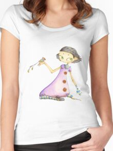 Biancaneve Women's Fitted Scoop T-Shirt