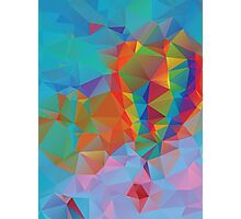 Vibrant Colorful Background 3 Photographic Print