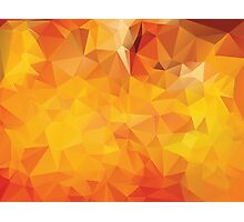 Vibrant Colorful Background 4 Photographic Print