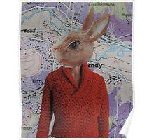 Rabbit Man Poster