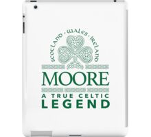Cool 'Moore, A True Celtic Legend' Last Name TShirt, Accessories and Gifts iPad Case/Skin