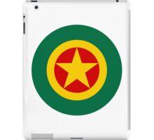 Roundel of the Ethiopian Air Force  iPad Case/Skin