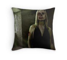 Remorseful Zombie Throw Pillow