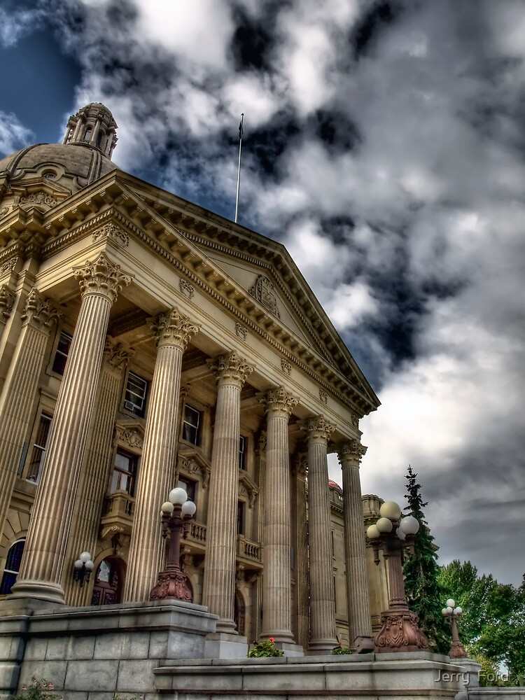 Edmonton Legislature Building by Myron Watamaniuk