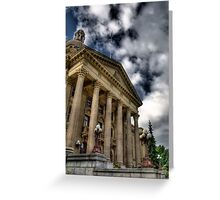 Edmonton Legislature Building Greeting Card