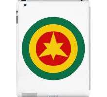 Roundel of the Imperial Ethiopian Air Force  iPad Case/Skin