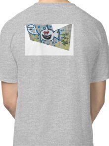 shark eating cops Classic T-Shirt