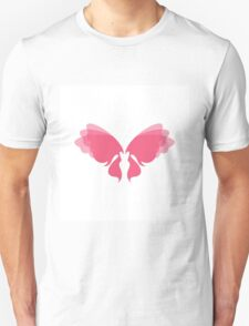 Lovely Lady Fairy Wings T-Shirt