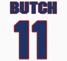 National football player Butch Songin jersey 11 by imsport