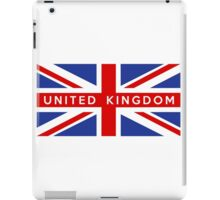flag of United Kingdom iPad Case/Skin