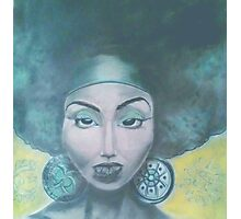 Afro Queen Photographic Print