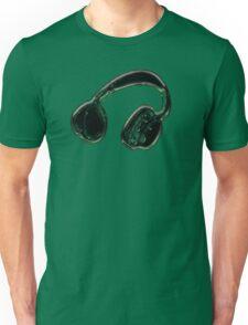 Headphones. Unisex T-Shirt