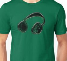 Headphones. Unisex T-Shirt