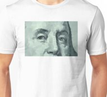 Benjamin Franklin closeup Unisex T-Shirt