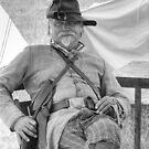 Portrait of a Rebel Officer by © Joe  Beasley IPA