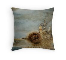 Warship series#3 Throw Pillow