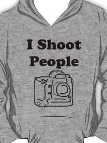 I shoot people (Photographer) T-Shirt