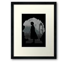 Detective's world Framed Print