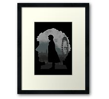 Detective's world Framed Print