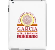 Excellent 'Garcia A True Spanish Legend' T-shirts, Hoodies, Accessories and Gifts iPad Case/Skin
