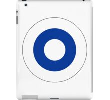 Roundel of the Finnish Air Force  iPad Case/Skin