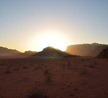 Dusk In The Desert by Malcolm Snook