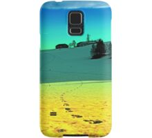Winter wonderland in twilight colors | landscape photography Samsung Galaxy Case/Skin