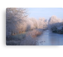 Magical Winter Wonderland Canvas Print