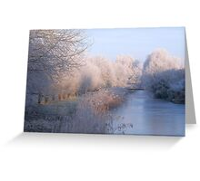 Magical Winter Wonderland Greeting Card