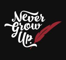 Peter Pan - Never Grow Up. Kids Clothes