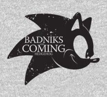 Badniks are Coming - Hedgehog by gabriel-arruda