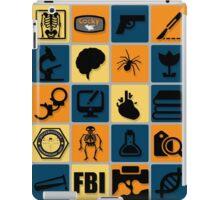 BONES TV Flat Icon Collage iPad Case/Skin