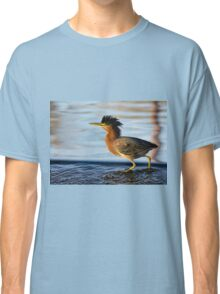 Sunset Walk in the Water Classic T-Shirt