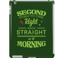 Peter Pan Neverland  - Second Star iPad Case/Skin