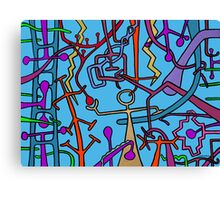 EVES BUSY DAY ! Canvas Print