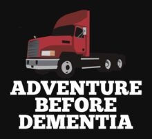 Lorry Truck Driver Adventure Before Dementia by Chimpocalypse