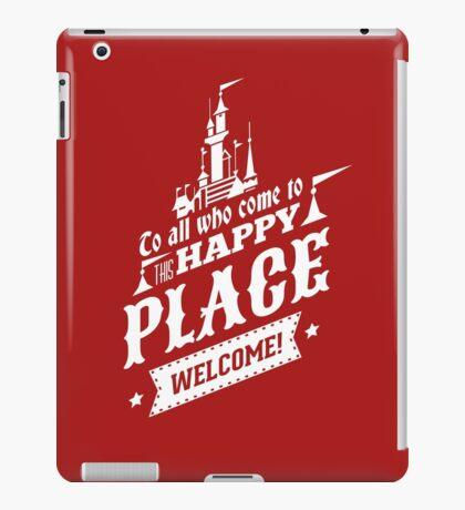 Magic Kingdom - Walt's Happy Place iPad Case/Skin