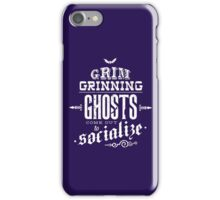 Haunted Mansion - Grim Grinning Ghosts iPhone Case/Skin