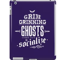 Haunted Mansion - Grim Grinning Ghosts iPad Case/Skin