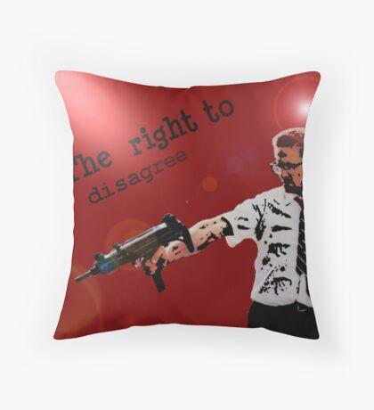 'D-Fens' Throw Pillow