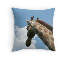 Giraff, Lion Park Gauteng  Throw Pillow